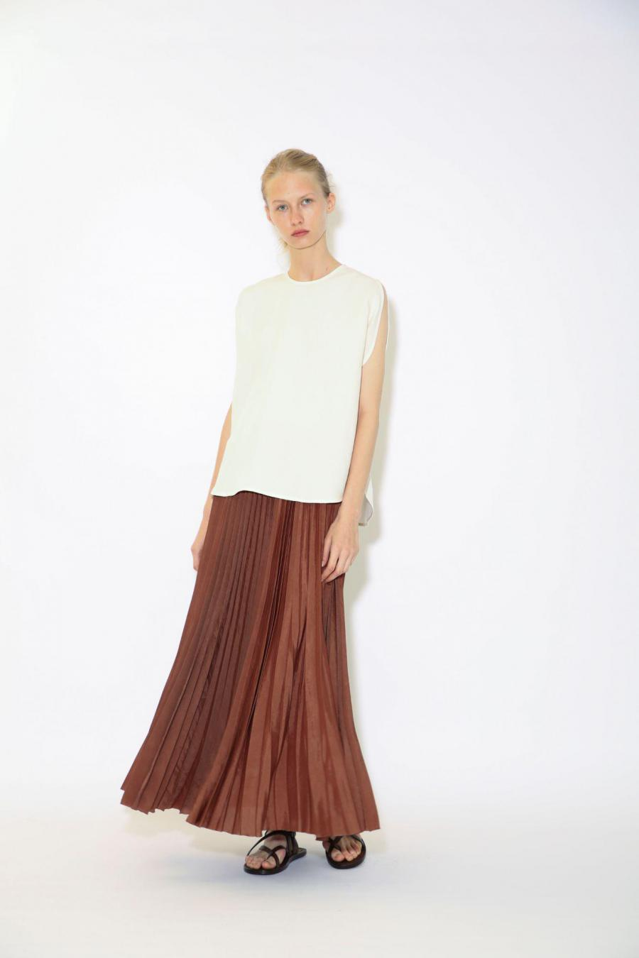 WASHER ACCORDION SKIRT