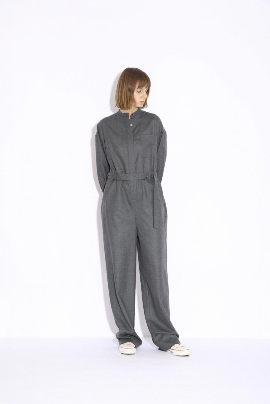 FINE WOOL JUMPSUIT