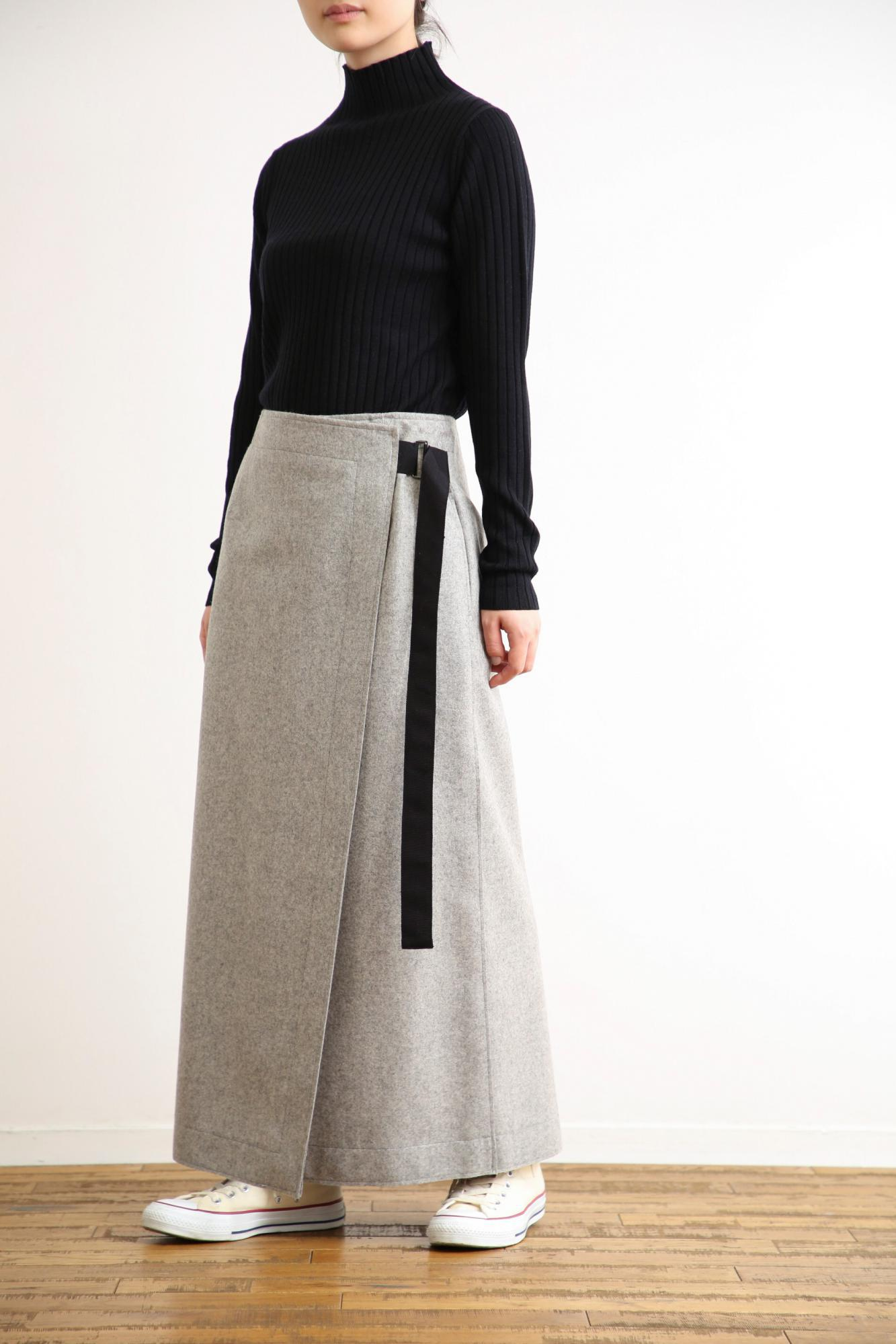 HIGH COUNT FLANNEL SKIRT