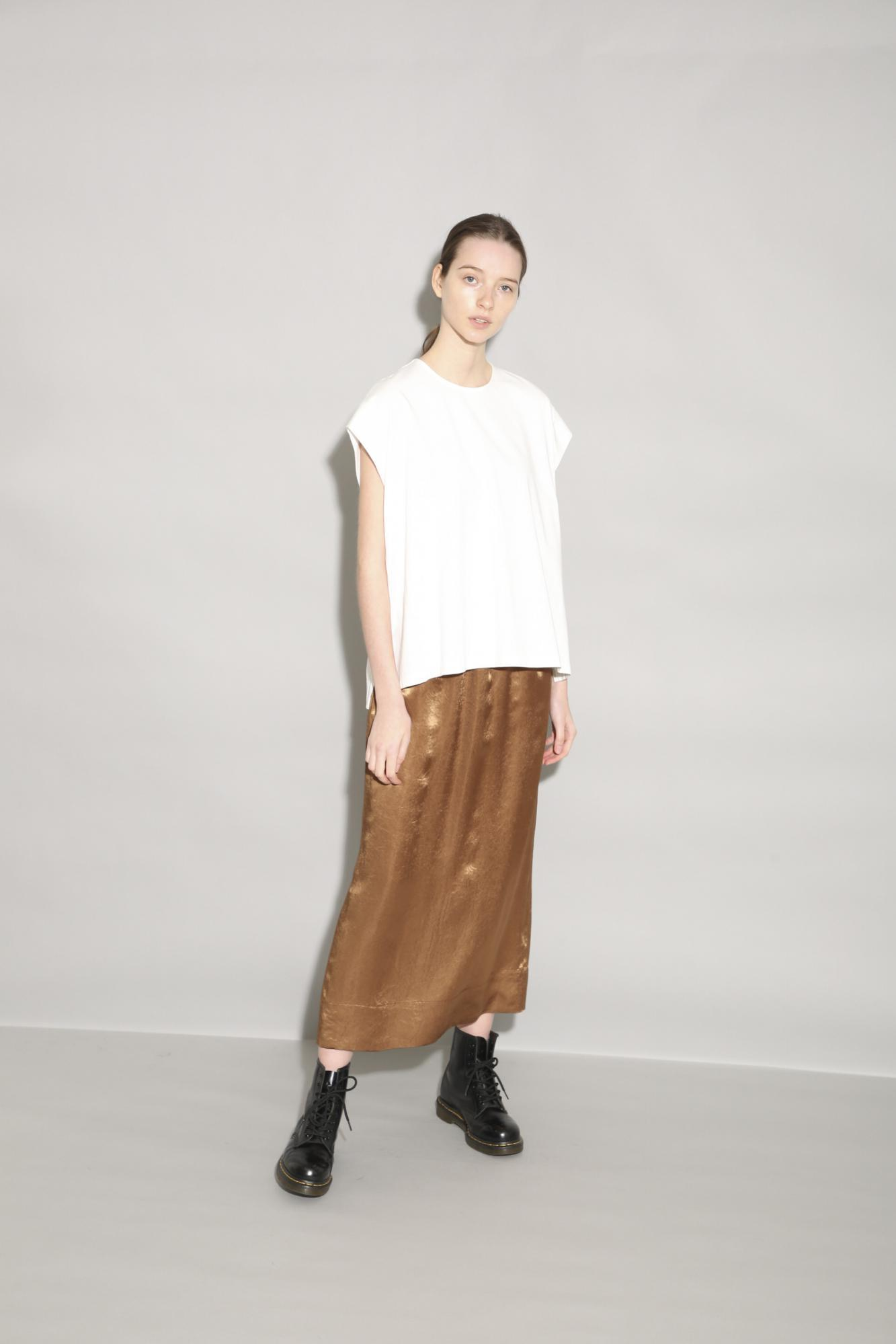 ACETATE SATIN SKIRT
