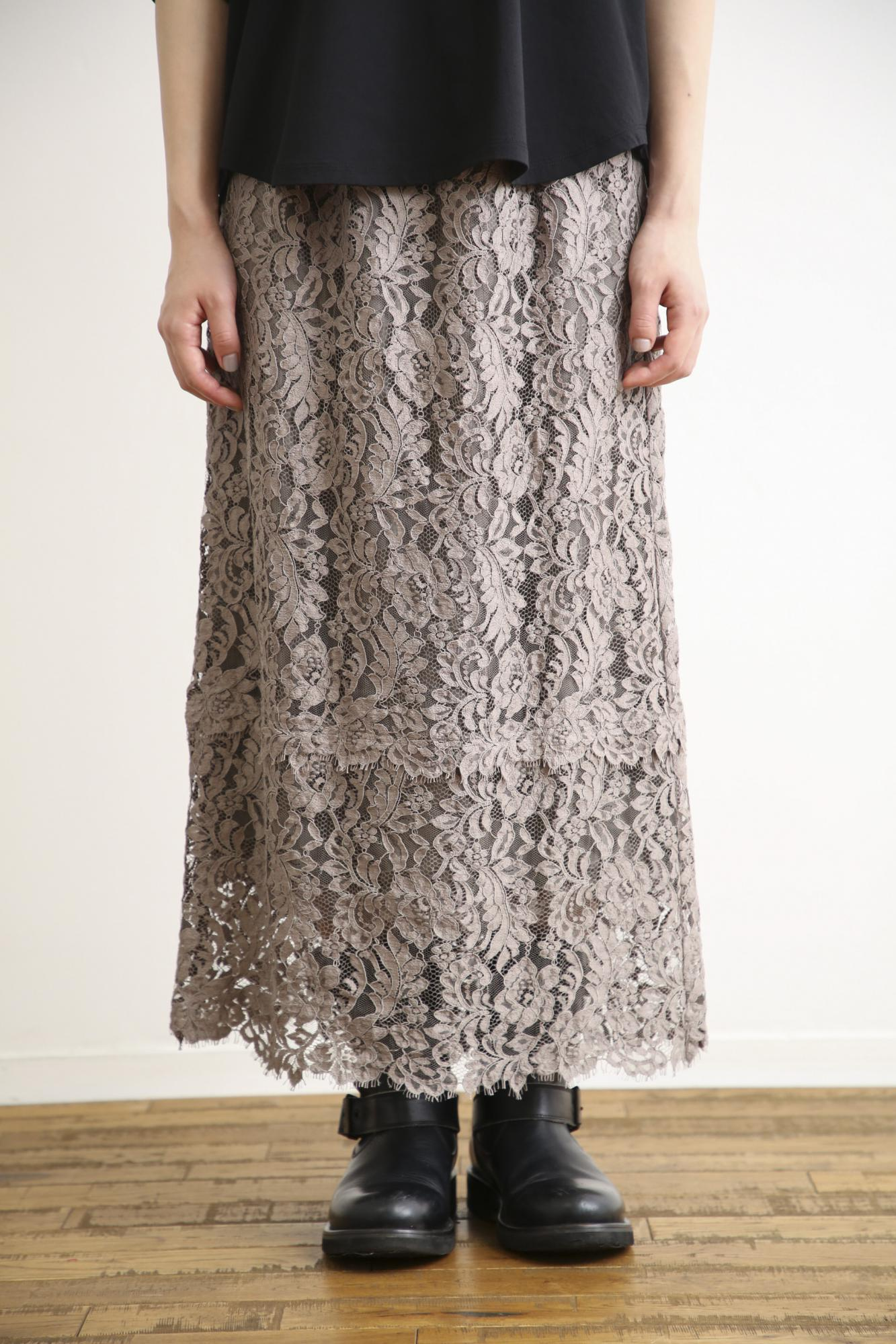 LEAVERS LACE SKIRT