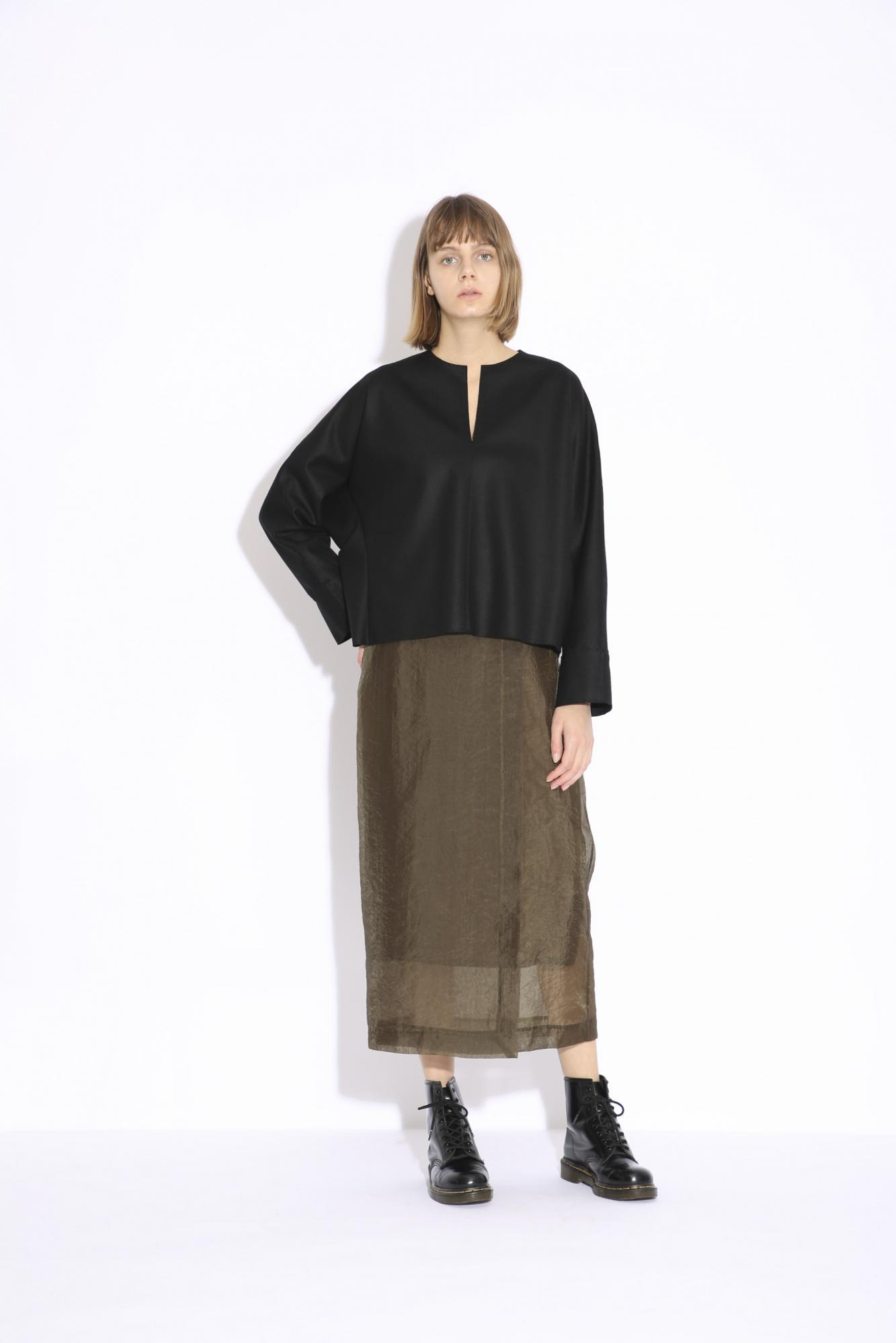 ORGANDY WRAP SKIRT